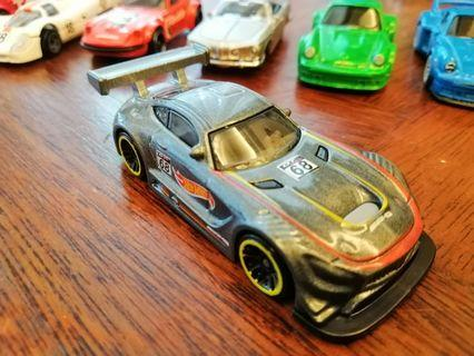 '16 Mercedes-AMG GT3 68 Hot Wheels Hotwheels Car #MGAG101