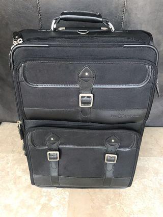 🚚 Authentic Ralph Lauren carry-on suitcase