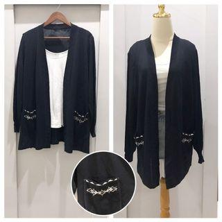 Black Knit Outer