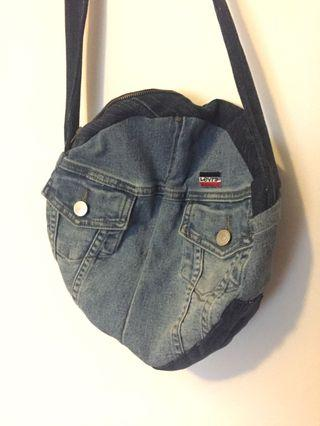 Levi denim jeans bum bag