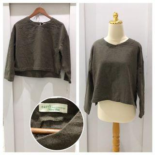 Earth music & ecology loose blouse
