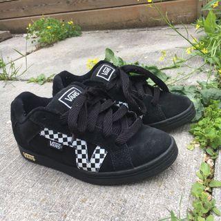 Black Suede Vans