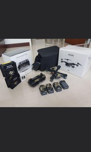 Dji spark fly more combo and more