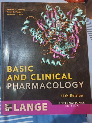 Pharmacology Basic and Clinical