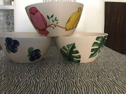 BN Bamboo Fibre Bowls