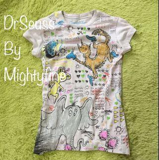 BN Dr Seuss By Mightyfine Junior/Ladies T shirt M/L