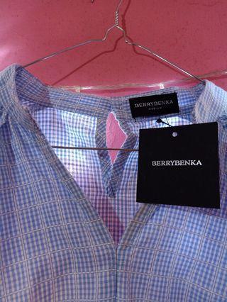 Kemeja blouse berrybenka