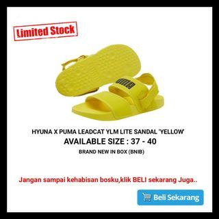 Hyuna X Puma Leadcat YLM Lite Sandal 'Yellow'