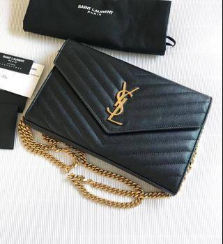 Clear Stock YSL Bag - 100% authentic