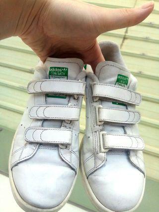 正品 adidas 愛迪達 stan smith 休閒鞋 綠尾 白鞋 白色