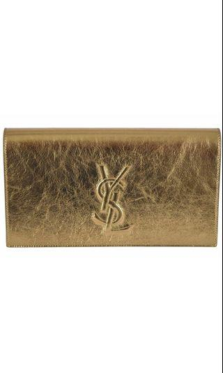 [PRICE REDUCED] YSL Gold Clutch