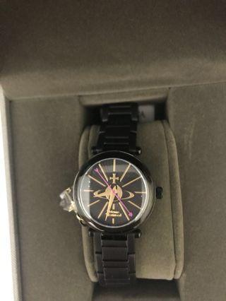 Vivienne Westwood Kensington Ceramic Black Watch 錶