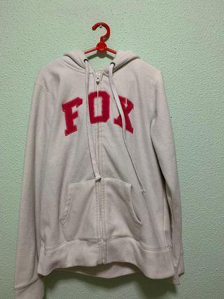 🚚 🔥 White FOX Fleece Jacket