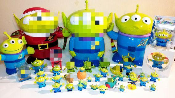 Toy Story 三眼仔系列:全新及二手,每款$8至$250,歡迎提問,有意pm。