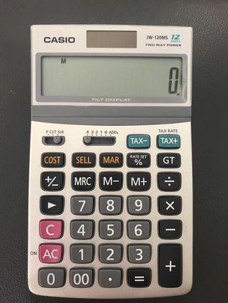 Casio計數機 JW-120Ms 12 digits