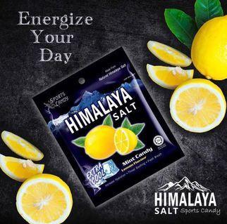 🚚 Himalaya Salt Candy - half box ( Lemon)