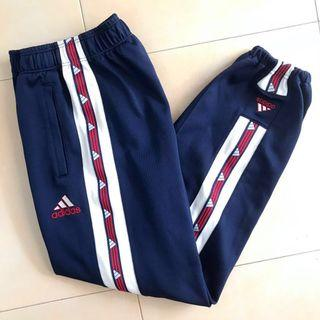 Adidas Vintage Navy Blue Cuffed Track Pants