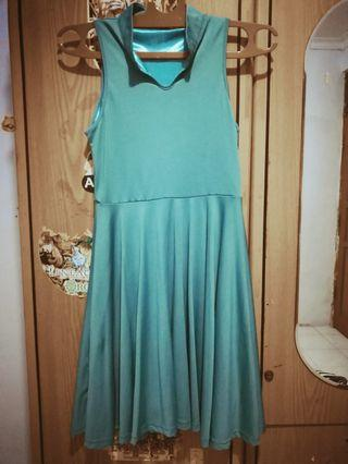 Dress hijau made in Singapore