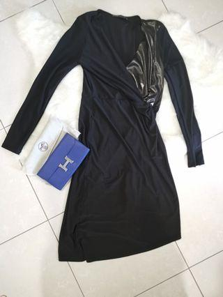 Marks and Spencer Long sleeve dress uk8 #MGAG101