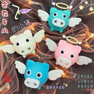 Flying Angel Pig Car Air Freshener Air Vent 4 colours New Design Magnetic Free ONE Random Scent
