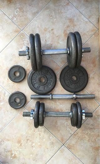 Dumbells weights