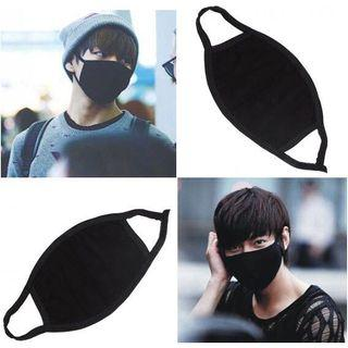 [PROMOTION]  Korea Unisex Black Anti Haze Dust Cotton Face Mask