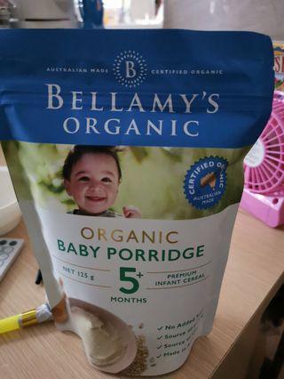 bellamy's organic 米糊