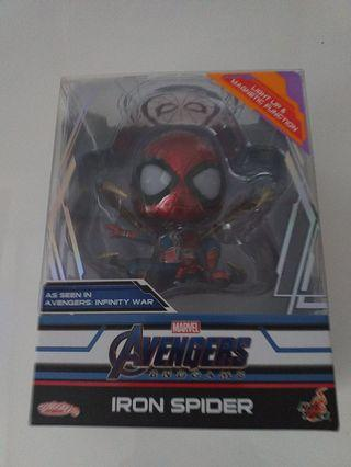 Hottoys iron spider cosbaby