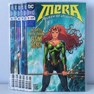 Mera: Queen of Atlantis Comics Set