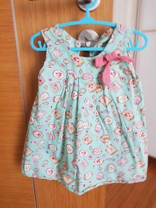 🚚 Baby girl dress 12 to 18 month