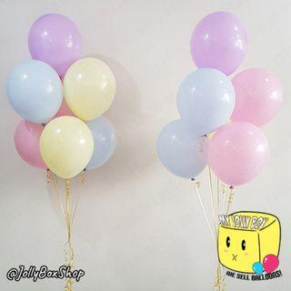 14 x Helium Inflated Pastel Balloons Package For Party Decorations #HeliumBalloons #PastelBalloons #BirthdayParty