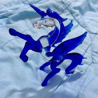 獨角獸玻璃裝飾藝術品