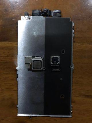 Iphone 5s camera depan belakang mic braket