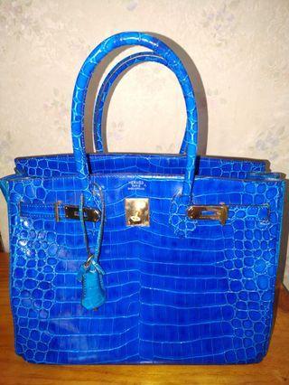 Tas Hermes Biru