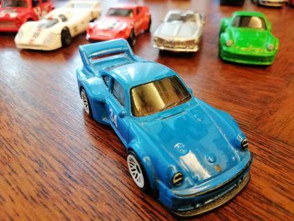 Porsche 934.5 Blue White 34 Mattel Hot Wheels Hotwheels Car #MGAG101
