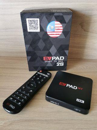 Original Evpad 2s Android Smart TV Box (Display Demo Unit) free new keyboard and lan cable