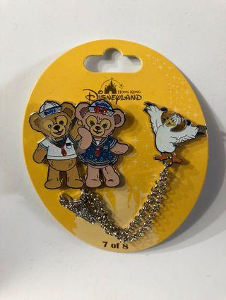 Disney Pin 迪士尼徽章 襟章 LE Duffy Pin