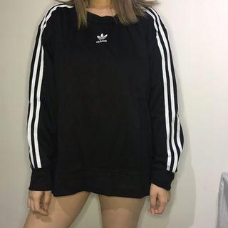 [Brand New] Adidas Originals 3 Striped Sweat Shirt PullOver
