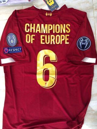 Liverpool CHAMPION of EUROPE Full Set