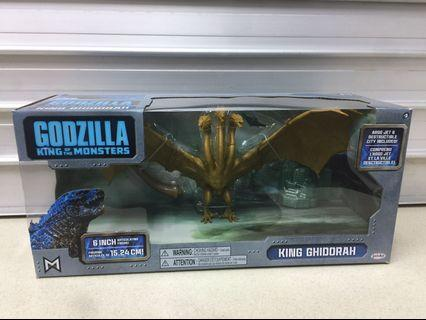 """Godzilla King of Monsters 6"""" Figure pack featuring King Ghidorah - read full listing"""