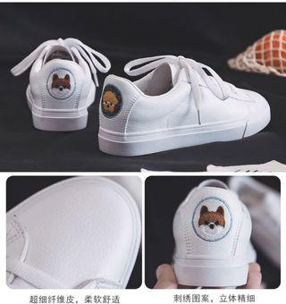 BN White Sneaker, Doggies