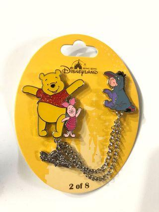 Disney Pin 迪士尼徽章 襟章 LE Pooh Pin