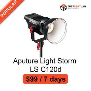 [RENT] Aputure Light Storm LS C120d LED Kit