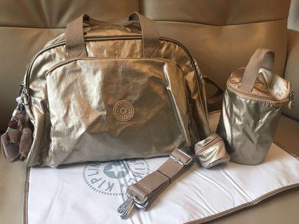 Kipling golden mother bag