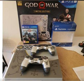 Ps4 pro limited edition god of war