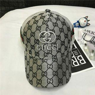 Gucci 古馳 帽子 鴨舌帽 棒球帽 經典logo 男 女 情侶 均碼