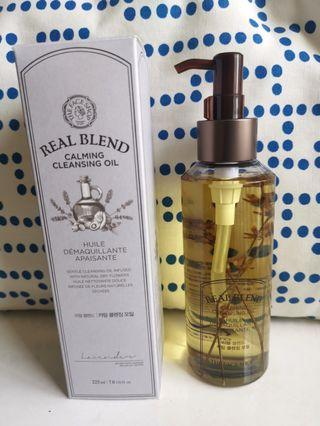 Real Blend Calming Cleansing Oil