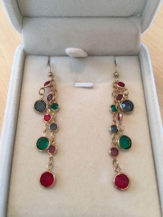 Crystal earrings 水晶耳環