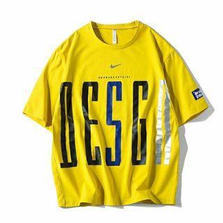 Nike 耐吉 胸前大圖個性圓領上衣 短袖 短T T恤 男 女 情侶 運動 嘻哈