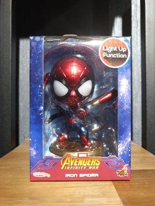 Hot Toys Avengers: Infinity War Iron Spider Standing Version LED Light Up Function Cosbaby MISB